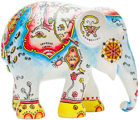 Raffles Landing Elephant Parade - get the perfect Singapore leaving gift at The Cinnamon Room