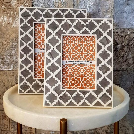 Grey Mogul Photo Frame - Beautiful picture frames by The Cinnamon Room