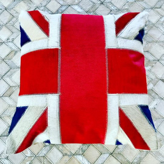 Vibrant Union Jack Cushion Cover - cushion cover with Union Jack flag by The Cinnamon Room