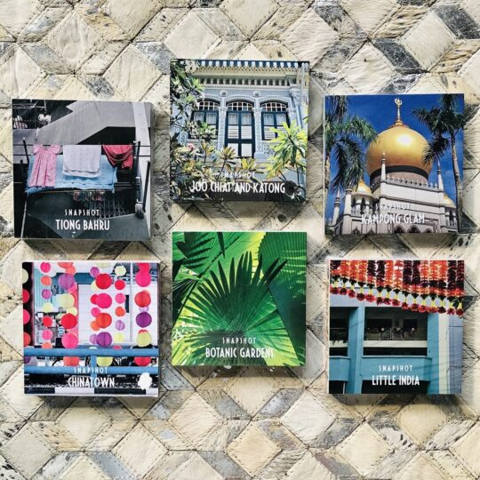Snapshots of Singapore Photo Book Set of 6 - available a The Cinnamon Room