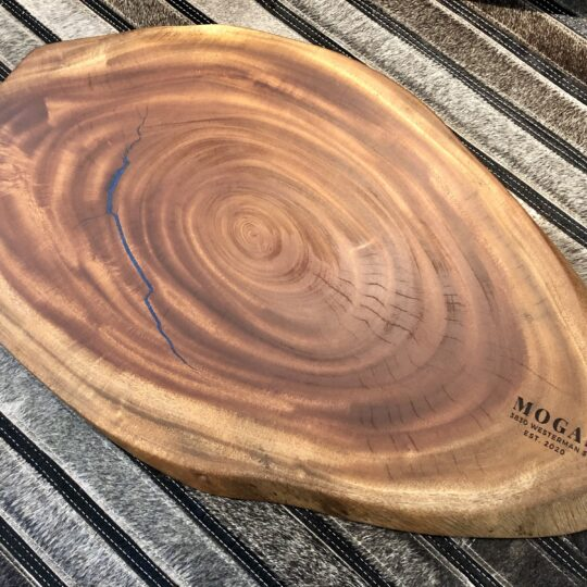Singapore Mahogany Wood Platters and Serving Boards by The Cinnamon Room